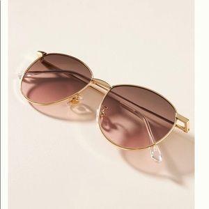 Anthropologie pris round sunglasses